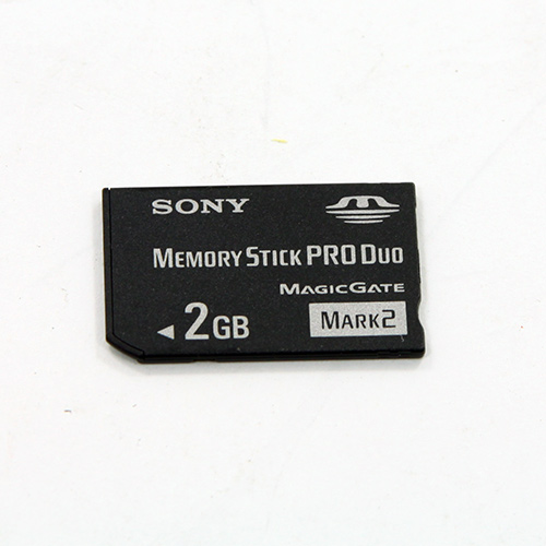 sony memory stick pro duo 2 gb camera memory card ms mt2g. Black Bedroom Furniture Sets. Home Design Ideas