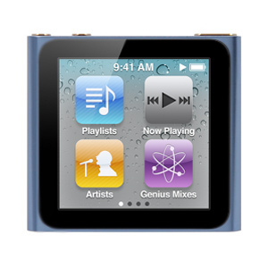 Apple iPod Nano 8gb 6th Generation Touch Screen Newest