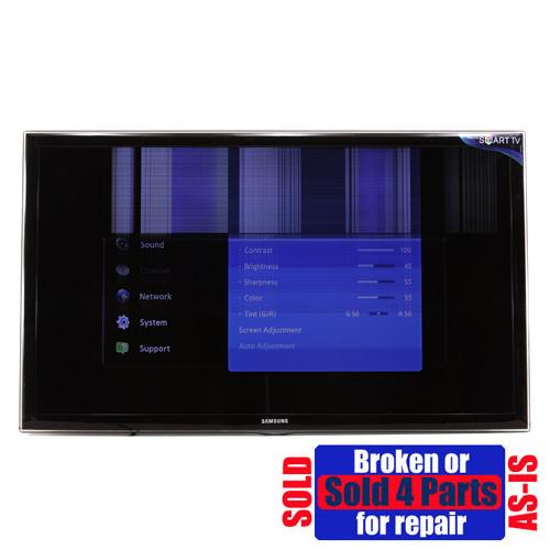 As Is Broken Samsung Un46d6000 46 034 Hd Tv Led 1080p For border=