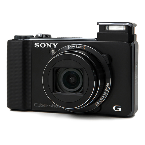sony cyber shot dsc hx9v 16 2 mp black digital camera 3d panorama. Black Bedroom Furniture Sets. Home Design Ideas