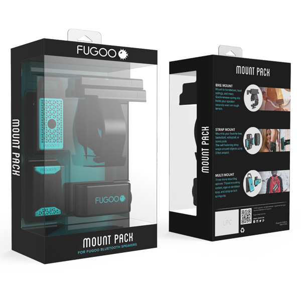 Fugoo Mount Pack For Sport And Tough Speakers F6mpk01