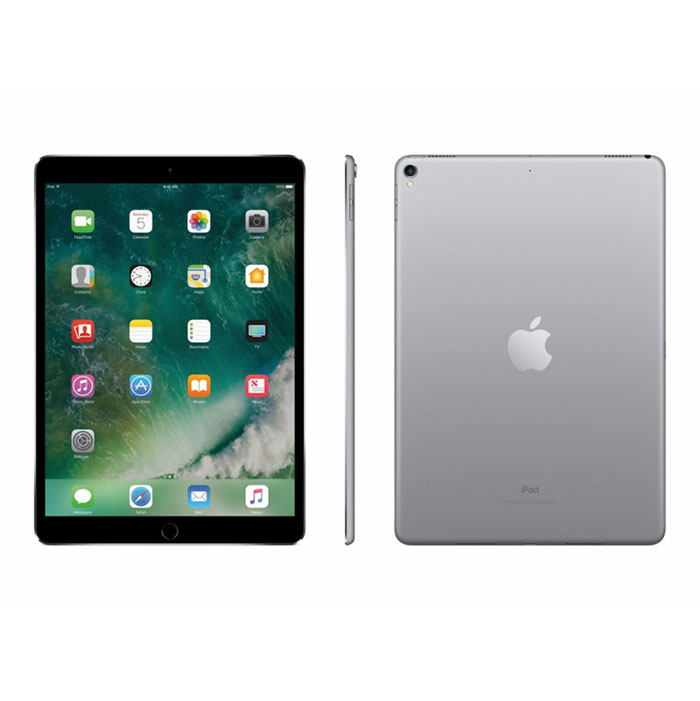 Apple 105quot iPad Pro 64GB WiFi Space Gray MQDT2LLAIpad 3 Back Png
