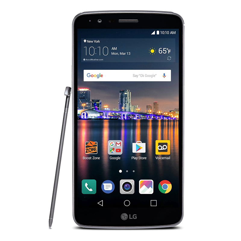 Details about LG Stylo 3 LGLS777ABB 16GB Black Prepaid Smartphone Carrier  Locked Boost Mobile