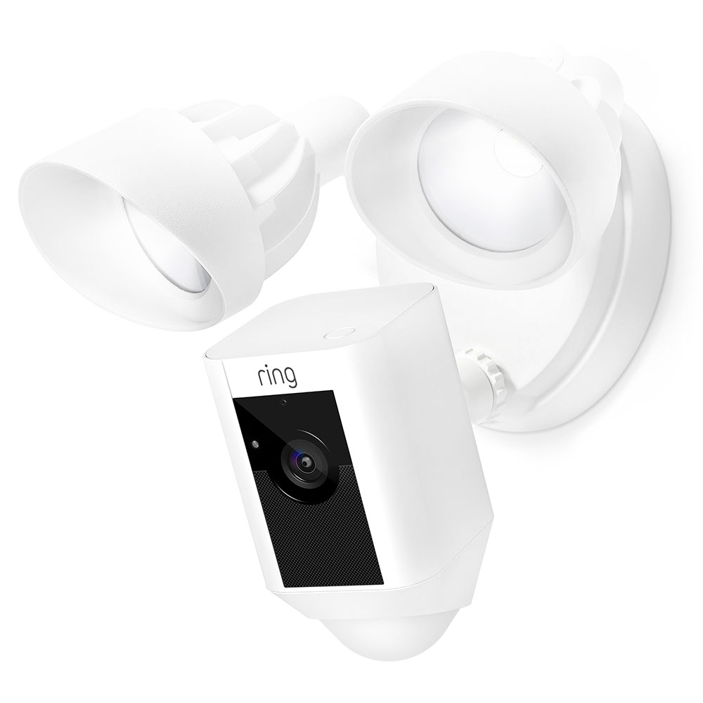 2 Pack Ring Floodlight Camera Security Camera Indoor