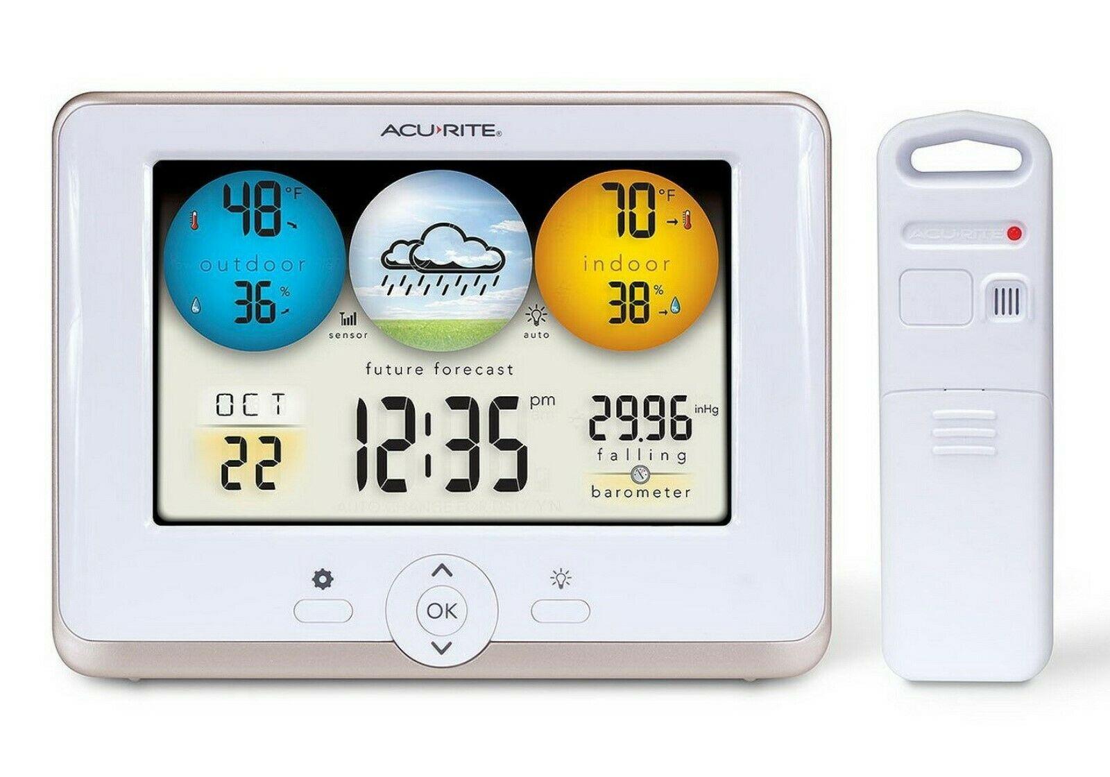 AcuRite Digital Home Weather Station Indoor Outdoor ...