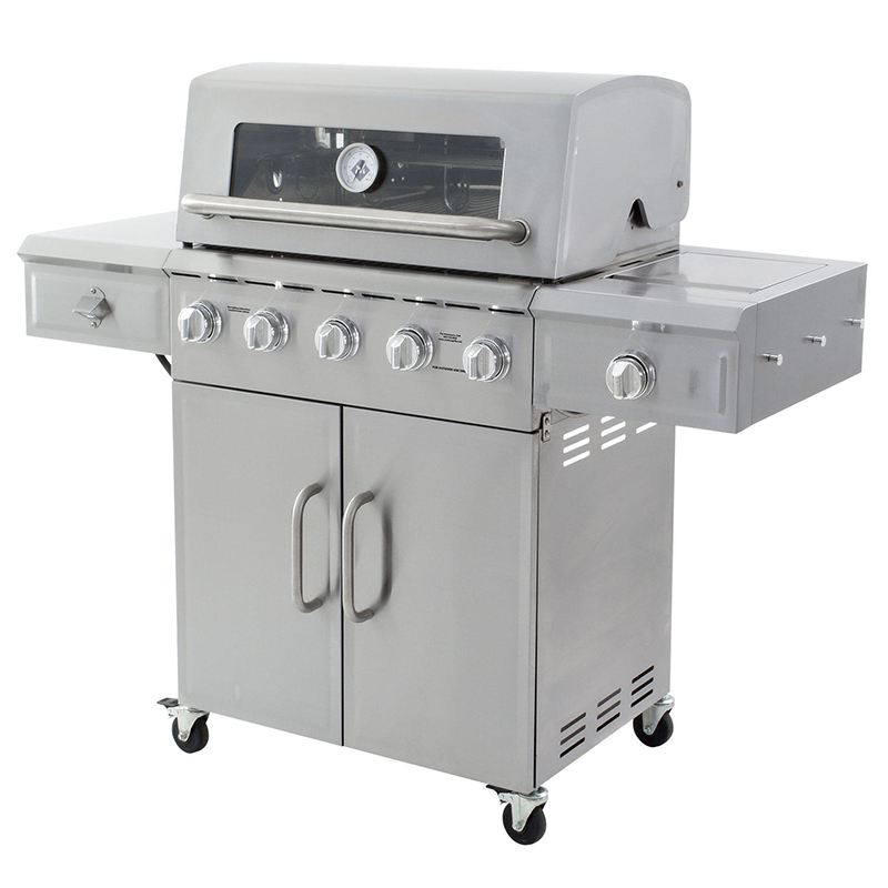 Member's Mark 5-Burner Stainless Steel Gas Grill with ...